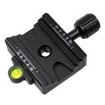 FCD-1 Dual-use Knob Quick Release Clamp Adapter Plate Mount for 39mm Arca / 32mm SLIDEFIX Quick Release Plate