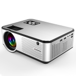 Cheerlux C9 2800 Lumens 1280×720 720P HD Android Smart Projector, Support HDMI x 2 / USB x 2 / VGA / AV (Black)