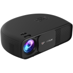 Cheerlux CL760 3600 Lumens 1280×800 720P 1080P HD Smart Projector, Support HDMI x 2 / USB x 2 / VGA / AV (Black)