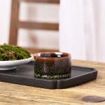 Ceramic Kiln Transmutation Tea Cup Handmade Kungfu Tea Bowl(Straight cup)