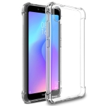 IMAK All-inclusive Shockproof Airbag TPU Case with Screen Protector for Xiaomi Redmi 7A(Transparent)