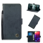 Multifunctional Horizontal Flip Retro Leather Case with Card Slot & Holder for Huawei P30(Black)