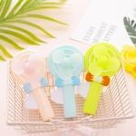 A715 Portable Handheld Mini Cartoon Lollipop Toy Fan (Color Random Delivery)