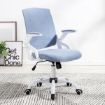 TO-329 Writing Desk Lifted Rotated Chair Children Computer Chair Office Chair (Blue)