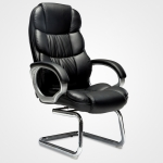 TO-615-Z Office Bow Rotating Computer Chair Home Armchair Desk Chair (Black)