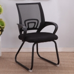 9050 Computer Chair Office Chair Home Back Chair Comfortable Simple Desk Chair (Black)