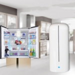 CWQ001 Mini Fresh USB Charging Air Purifier Ozone Sterilization Refrigerator Deodorizer, Standing Charger