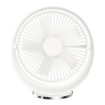 Adjustable Multidimensional Fan Leaf USB Charging Desktop Electric Fan, Support 3 Speed Control