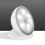 Creative LED Human Body Induction Smart Light for Room Bathroom Corridor Wardrobe(White)