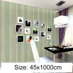 Creative PVC Autohesion Brick Decoration Wallpaper Stickers Bedroom Living Room Wall Waterproof Wallpaper Roll, Size: 45 x 1000cm (Black)