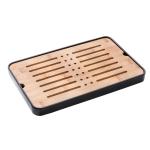 Bamboo Portable Tea Tray Tea Table, Size: 35x23x3.2cm