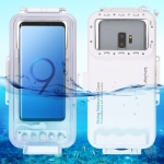 HAWEEL 45m Waterproof Diving Housing Photo Video Taking Underwater Cover Case for Galaxy, Huawei, Xiaomi, Google Android OTG Smartphones with Type-C Port (White)