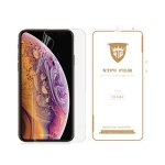 MIETUBL 0.15mm Curved Full Screen Protector Hydrogel Film Front Protector for iPhone XS Max