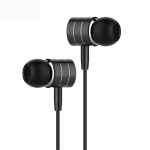 Langston I7A Metal Tone Tuning In-Ear Wired Earphone (Black)