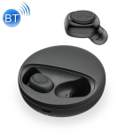 YH-03 TWS V5.0 Wireless Stereo Bluetooth Headset with Charging Case, Support Voice Assistant (Black)