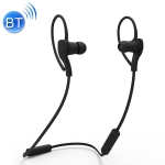 BT-H06 Sports Style Magnetic Wireless Bluetooth In-Ear Headphones V4.1 (Black)