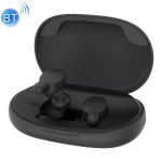 REMAX TWS-3 TWS Bluetooth 5.0 Stereo Magnetic Wireless Bluetooth Earphone with Magnetic Charging Storage Box (Black)