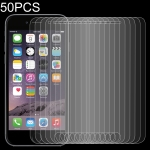 50 PCS 0.26mm 9H 2.5D Tempered Glass Film for iPod touch 6