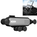 XO C28 Auto Car Air Outlet Gravity Invisible Phone Holder (Silver)