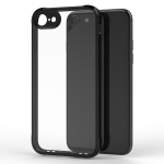 Transparent Acrylic + TPU Airbag Shockproof Case for iPhone 8 & 7 (Black)