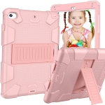 Shockproof Two-color Silicone Protection Shell for iPad Mini 2019 & 4, with Holder