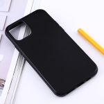 Shockproof Solid Color TPU Protective Case for iPhone XI Max 2019 (Black)