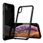 Transparent Acrylic + TPU Airbag Shockproof Case for iPhone XS Max (Black)