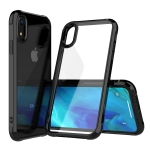 Transparent Acrylic + TPU Airbag Shockproof Case for iPhone XR (Black)