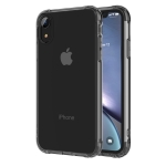 Transparent TPU Airbag Shockproof Case for iPhone XR(Black)