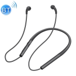 Neck-mounted Air Conduction Bluetooth Earphone with Magnetic Buckle, Support Call Vibration & Hands-free Calling & Battery Display & Multi-point Connection(Black)