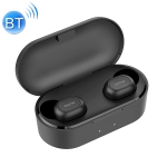 QCY T2S Bluetooth 5.0 Invisible Wireless Bluetooth Earphone, Support Wireless Charging (Black)