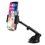 Universal Rotatable Adjustment Car Windshield Mobile Phone Holder with Suction Cup (Black)