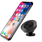 O-CRYSTAL Q005 Magnetic Car Air Outlet Mobile Phone Holder with 3M Sticker (Black)