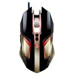 ZGB T03 USB 3200DPI Four-speed Adjustable Custom Macro Light Wired Optical E-sport Gaming Mouse, Length: 1.5m (Black)