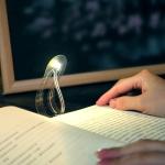 Creative Bookmark Curved Folding Portable LED Night Light
