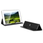Multi-function Portable Ultrathin Foldable Heat Dissipation Mobile Phone Desktop Holder Laptop Stand (Black)