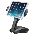 Universal Manual Control Desktop Stand for 7-15 inch Tablets (Black)