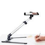 Multifunctional Adjustable 360 Degrees Rotation Photography Calligraphy Live Broadcasting Video Recording Mobile Phone Overhead Bracket