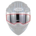 Soman Motorcycle Helmet Visor Anti-fog PC Shield Helmet Film