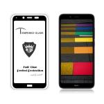 MIETUBL Full Screen Full Glue Anti-fingerprint Tempered Glass Film for Xiaomi Redmi 7A(Black)