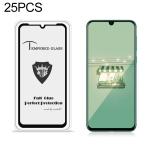 25 PCS MIETUBL Full Screen Full Glue Anti-fingerprint Tempered Glass Film for Huawei nova 5 / 5 Pro / Xiaomi Mi 9X(Black)
