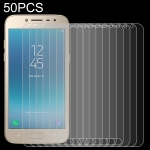 50 PCS 0.26mm 9H 2.5D Tempered Glass Film for Galaxy J2 Pro (2018), No Retail Package