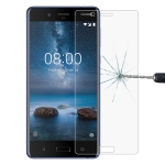 0.26mm 9H 2.5D Tempered Glass Film for Nokia 8