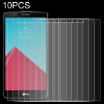 10 PCS 0.26mm 9H 2.5D Tempered Glass Film for LG G4