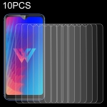 10 PCS 0.26mm 9H 2.5D Tempered Glass Film for LG W30