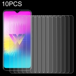 10 PCS 0.26mm 9H 2.5D Tempered Glass Film for LG W30 Pro