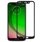 Full Glue Full Cover Screen Protector Tempered Glass film for Motorola Moto G7 Play