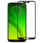Full Glue Full Cover Screen Protector Tempered Glass film for Motorola Moto G7 Power