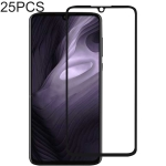 25 PCS 9H Full Screen Full Tempered Glass Film for Motorola Moto Z4 Play