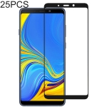 25 PCS Full Glue Full Cover Screen Protector Tempered Glass film for Galaxy A9 (2018)